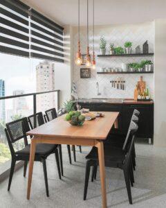 Decoração de varanda gourmet pequena: dicas para te inspirar 1