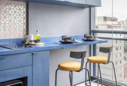 Decoração de varanda gourmet pequena: dicas para te inspirar